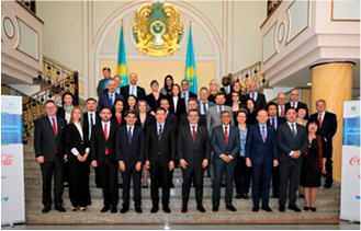 Askar Zhumagaliyev took part in the III Kazakh-American business forum on competitiveness