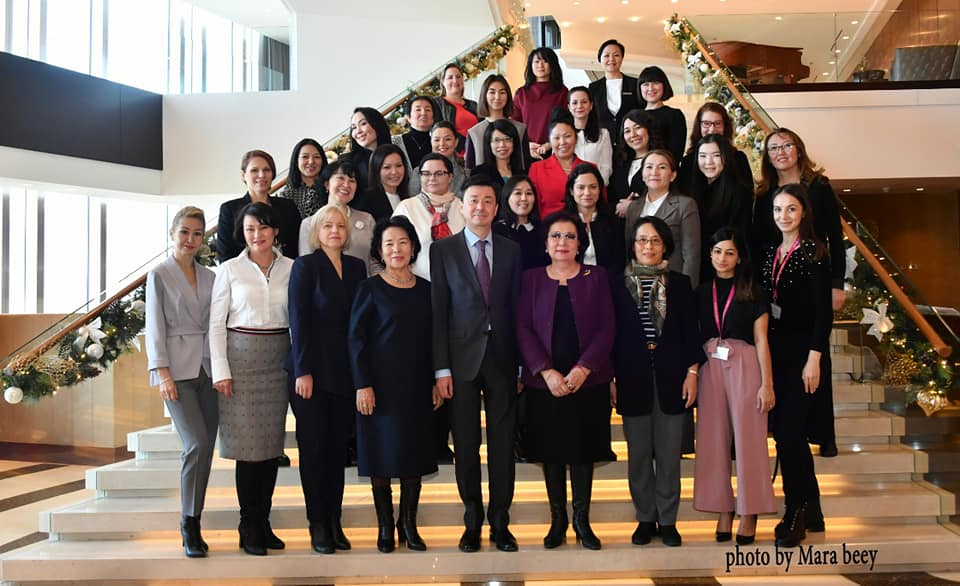 First meeting of the Women's Diplomatic Club