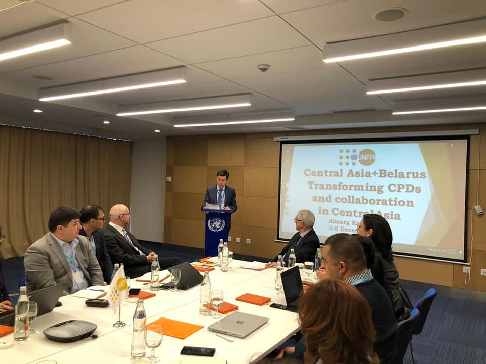 "Seminar ""Central Asia + Belarus: work on documents on the country program and cooperation in Central Asia"""
