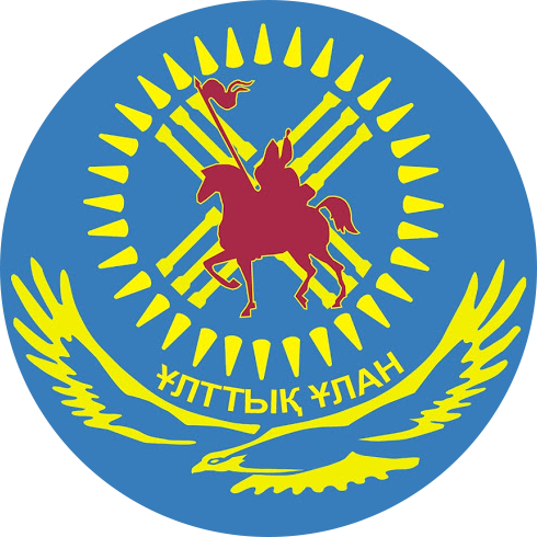 Logo Of the national guard of the Republic of Kazakhstan