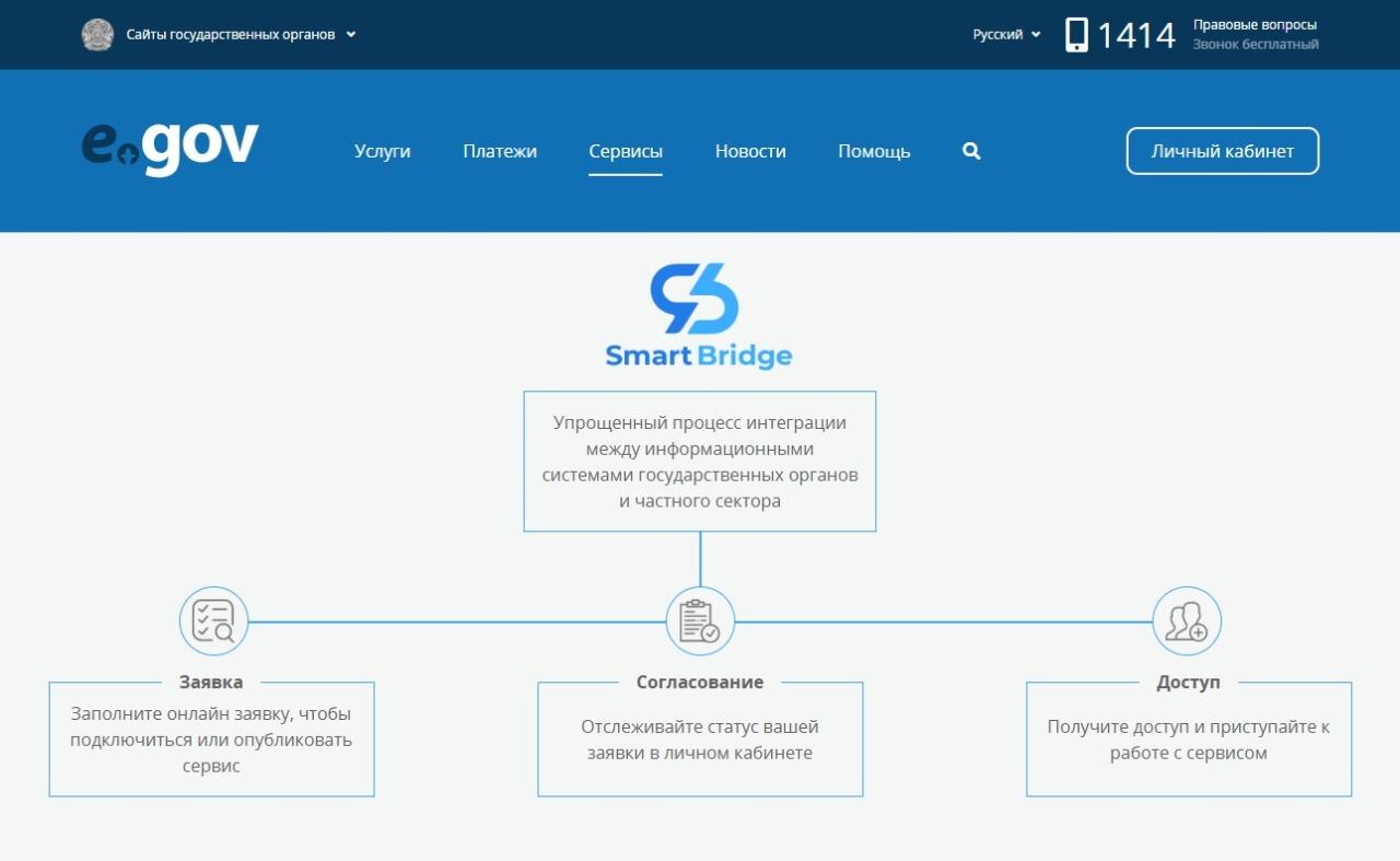 12.02.202 В Казахстане запустили интеграционную платформу Smart Bridge