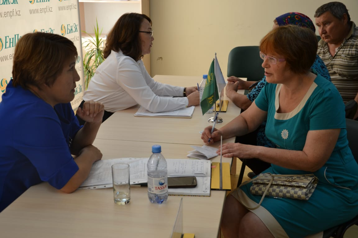 318 citizens on personal issues were accepted by the Deputy head of the Department of social Affairs A. Satayeva in 2019 and 2 months of 2020.