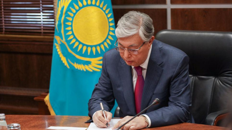 The President signed a Decree on extending the state of emergency in Kazakhstan