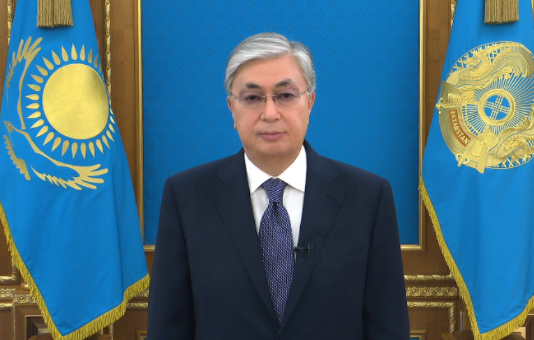 TV address of the Head of state Kassym-JomartTokayev