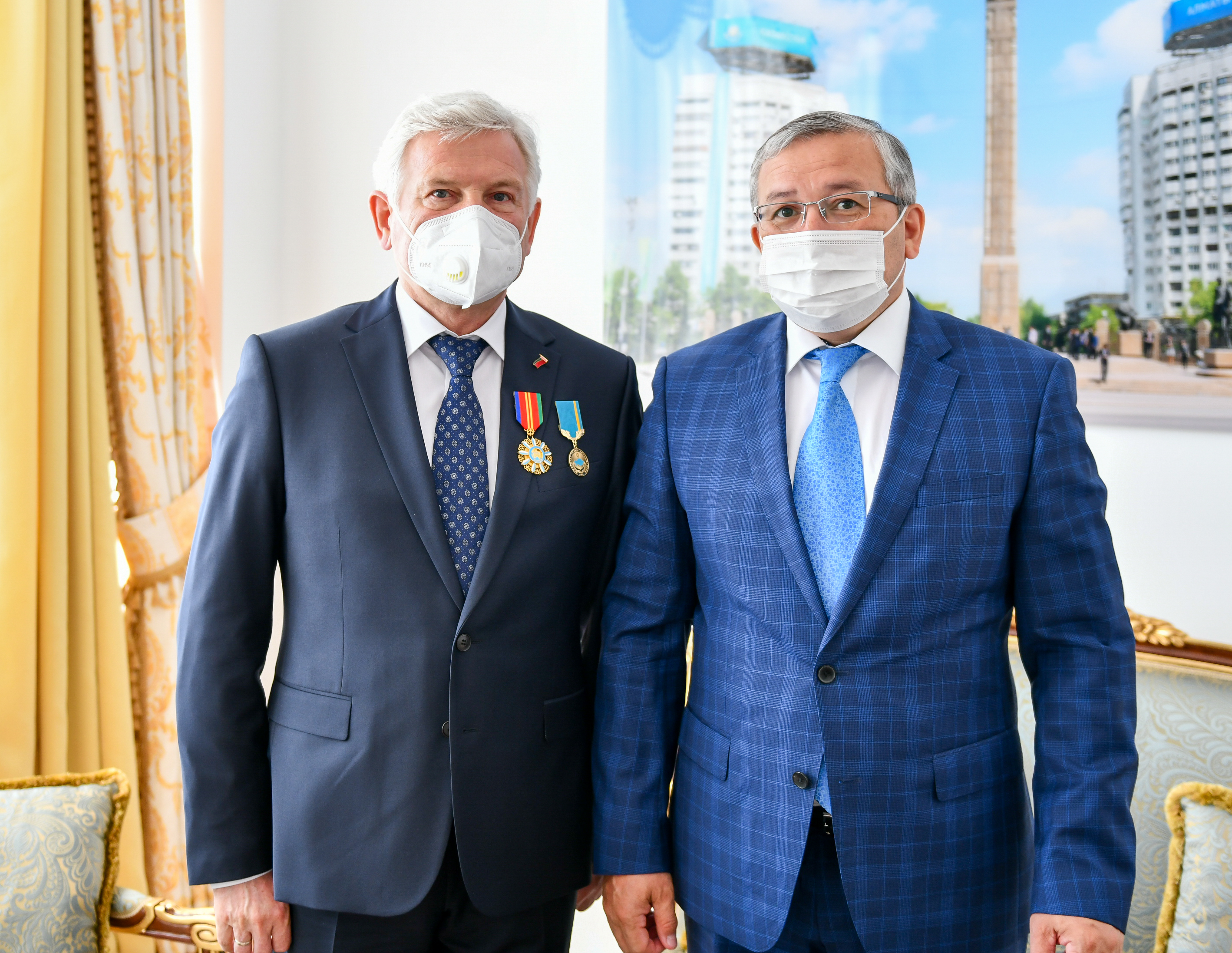 Deputy Minister hosts the Ambassador of Belarus