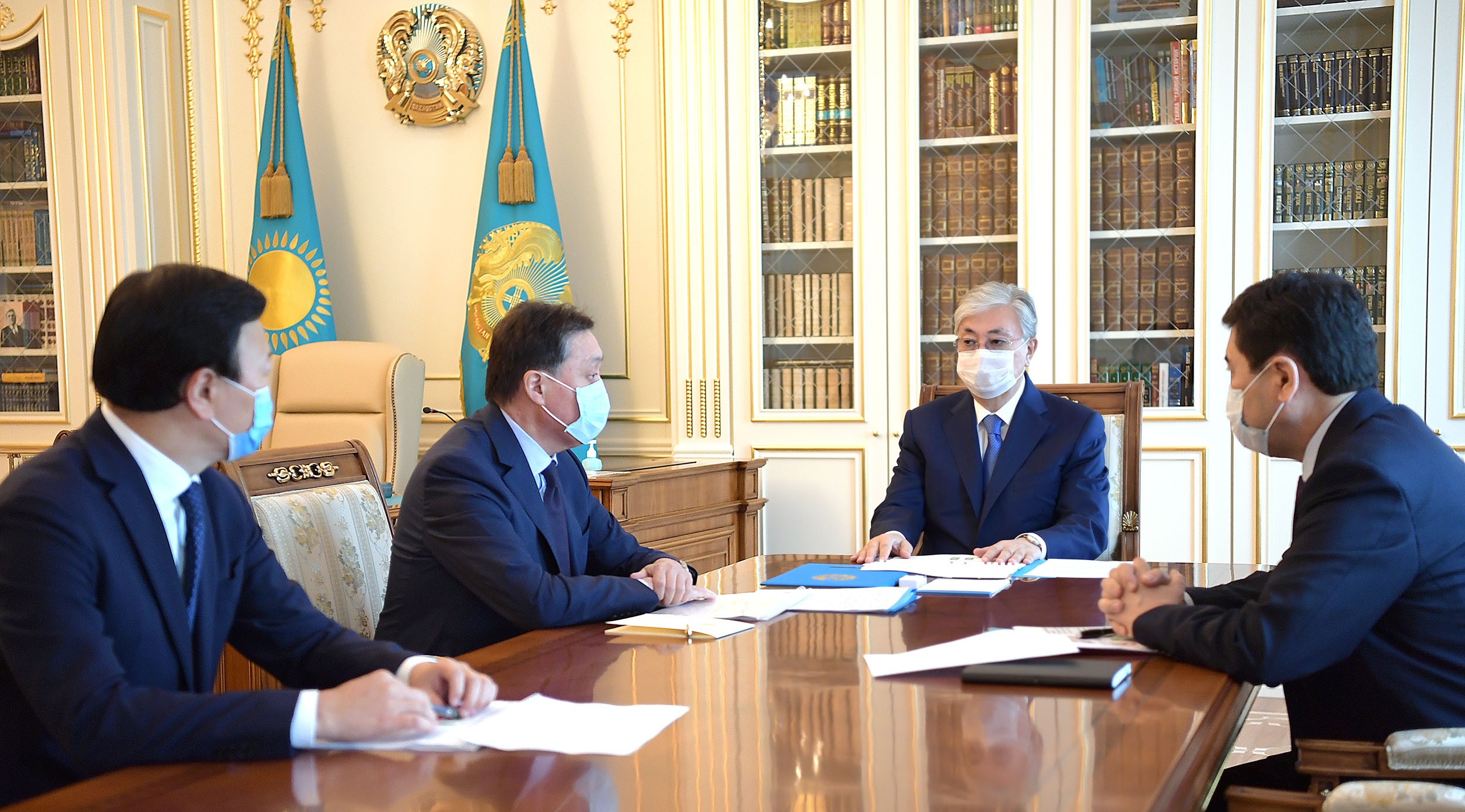 President Kassym-Jomart Tokayev held a meeting on the stabilization of the epidemiological situation