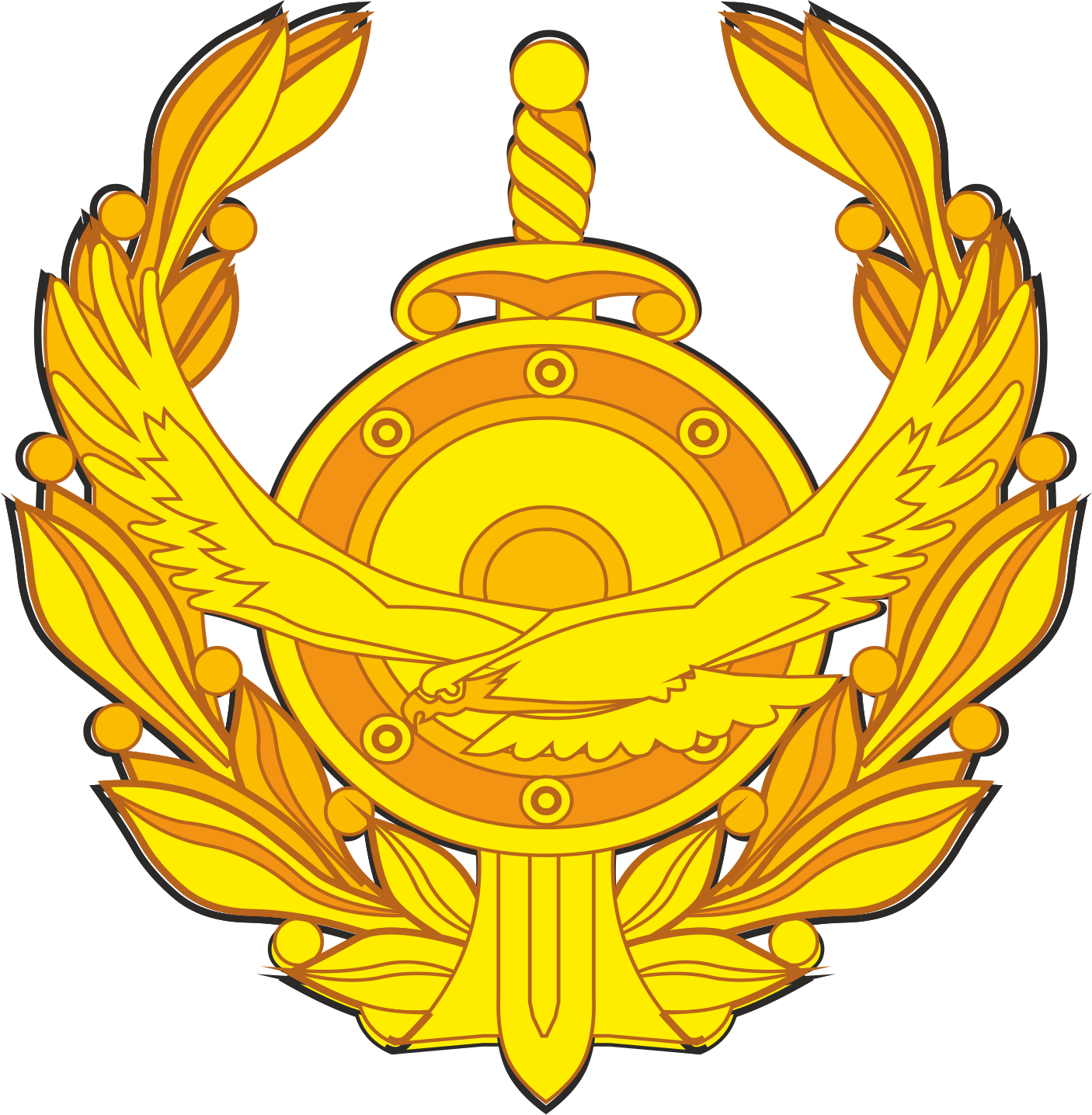 Logo of the Ministry of internal Affairs of the Republic of Kazakhstan