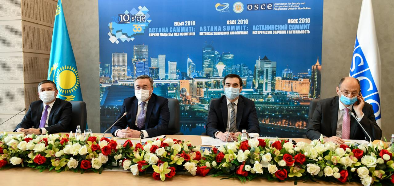 "International online conference ""OSCE Astana Summit 2010: Historical Significance and Relevance"""