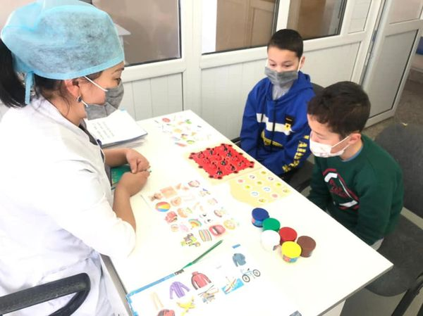 REHABILITATION DEPARTMENT HAS BEEN OPENED IN SHYMKENT CHILDREN'S HOSPITAL